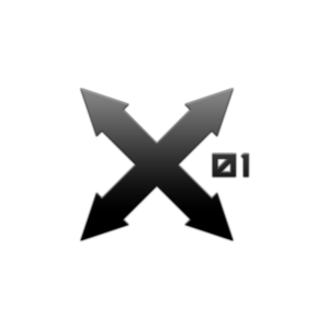 X01 logo 1 dark