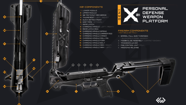 X01 Parts Diagram