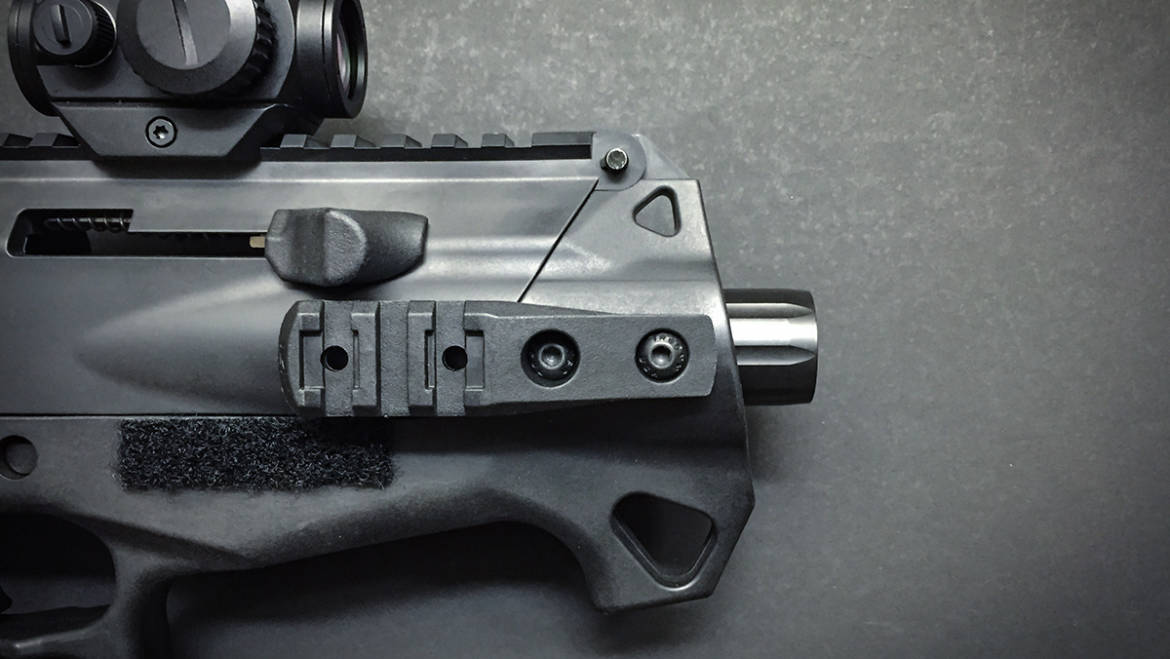 Replacing Thumb Rests with Accessory Rails
